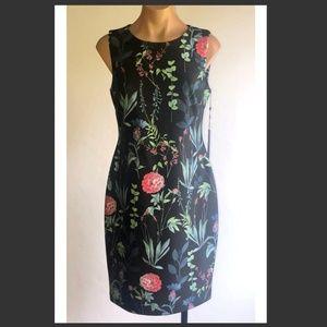 Tommy Hilfiger Sheath Floral Print Dress Sz 6